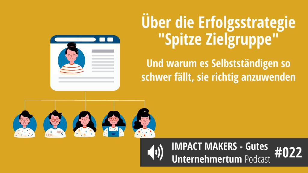 """Erfolgsstrategie """"Spitze Zielgruppe"""""""