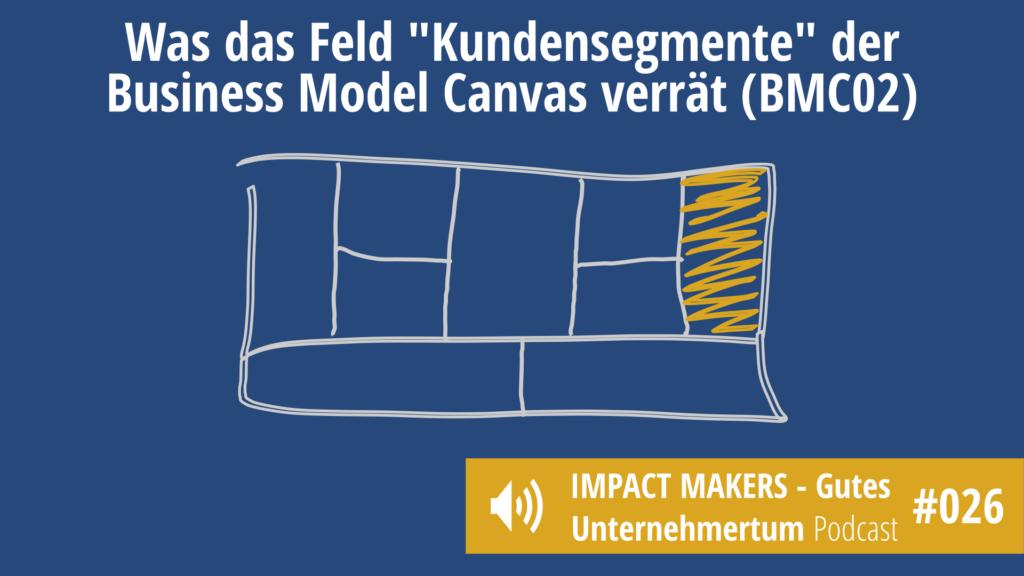 Baustein Kundensegmente - Teil der Business Model Canvas